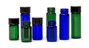 Blue & Green Vials
